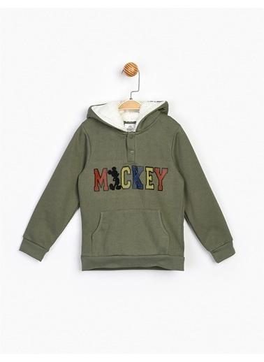 Mickey Mouse Sweatshirt Haki